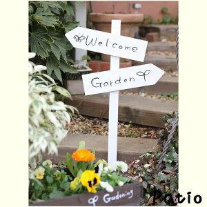 オリジナルのイラストやロゴがかわいい、ガーデンの手軽なアクセントに最適!【税込&送料無料...