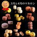 【送料無料・ギフト】3月と4月のマカロン(12種12個) 熨...