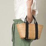 【nina fina】かごバッグ Mサイズ レディース バッグ 小物 BAG 手提げ ハンドメイド 巾着 ハンドバッグ ETFIL エトフィル