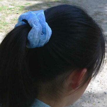ヘアアクセサリー シュシュ キッズ 子供 女の子 髪飾り オーガンジー レース ヘアゴム ヘアーアクセサリー ヘアアクセサリーキッズ バレエ バレエ用品 バレエ雑貨 ギフト クリスマスプレゼント 子供 女の子 3歳 4歳 5歳 6歳
