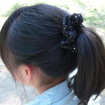 ヘアアクセサリー シュシュ キッズ 子供 女の子 髪飾り ドット柄 まとめ髪 ヘアゴム ヘアーアクセサリー ヘアアクセサリーキッズ バレエ バレエ用品 バレエ雑貨 ギフト クリスマスプレゼント 子供 女の子 3歳 4歳 5歳 6歳