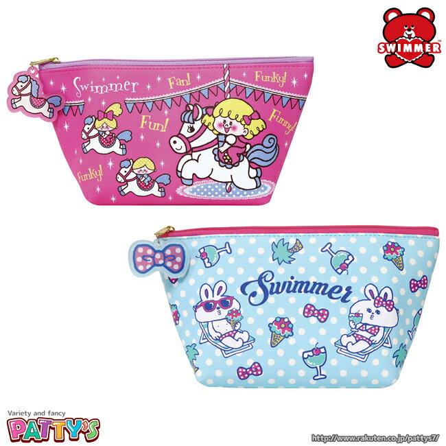 レディースバッグ, 化粧ポーチ SWIMMERSW-0032-0033 --