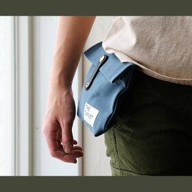 【全国一律送料324円】THECANVET[ザ・キャンベット]ウエストバッグパラフィン加工8号キャンバスヌメ革ベルト(メンズレディースバッグ鞄カバンアウトドアポーチバムポーチ)