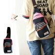 【全国一律送料324円】 スウェット ボディバッグ 異素材 配色切り替え ネイビー グリーン レディース バッグ ショルダー バッグ 一泊旅行|ショルダーバッグ ショルダーバック 旅行 かばん カバン 鞄