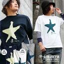 【イベント対象外】【全国一律送料324円】 BLUETO [ブルート] 半袖 Tシャツ カリフォルニア コットン 「 Star スター 星 」 プリント …