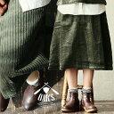【送料無料】OAR'S [オールズ] 太 コーデュロイ生地 Aライン シルエット ミモレ丈 スカート...