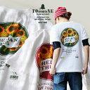 【全国一律送料324円】 TOneontoNE [トーン] Tシャツ TEE 半袖 クルーネック プリント 綿100% メンズ レディース カジュアル コットン…