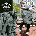 【予約販売期間中 10%OFF】【送料無料】 OAR'S [オールズ] スカート ひざ丈 カーゴポケット ピグメント キャンバス ツイル バックサテ…