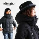 【イベント対象外】【予約販売】【送料無料】 ALISTAIR [アリステア] ブルゾン ジャケット 中綿 ブロックキルティング ダウンミックス …