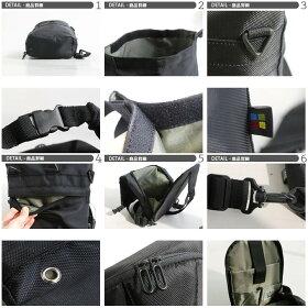 ボディバッグ1680Dマットポリエステル裏地配色切り替えイヤホンコードホールロールトップデザインD缶バックルショルダーバッグ調整ショルダーストラップ鞄メンズバッグレディースバッグ