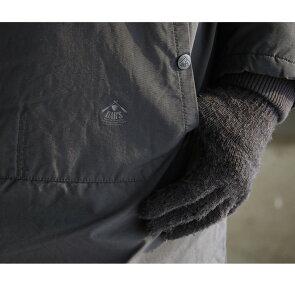 コートミドル丈アノラック風配色ダブルジップ『裏ボアフルライニング』スタンドネック『撥水防風60/40クロステフロン加工』メンズレディースアウター大きいサイズ40代50代OAR'S[オールズ]