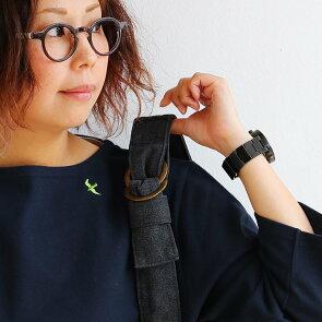 バスクシャツ七分袖7分袖カットソー『配色パイピングツバメ刺繍』日本製綿100%無地ボートネックレディーストップス大人カジュアル重ね着春夏秋冬40代50代
