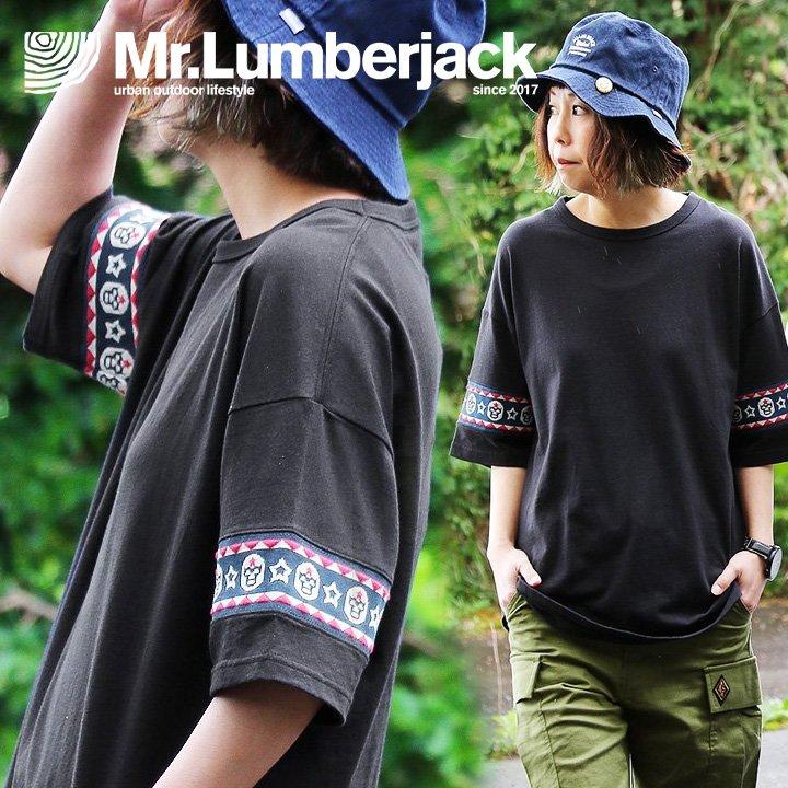 トップス, Tシャツ・カットソー T T T T PATY Mr.Lumberjack