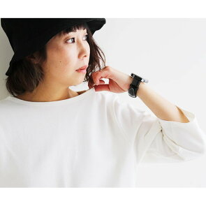 バスクシャツ七分袖7分袖カットソートップスコットン綿100%無地ボートネックバスクネイビー紺白黒レディースカジュアル tシャツ大人カジュアル重ね着半袖tティシャツティーシャツテイシャツSAIL[セイル]