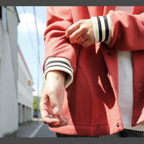 【ポイント対象外】【予約販売】カーディガンカーデジャケットノーカラースタジャン風配色リブ袖リラックスフィットストレッチポンチワンポイントぐるぐる刺繍スナップ開きメンズレディース春夏秋冬40代50代Mr.Lumberjack