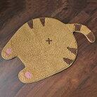 【ネコ】おしりマット(チャトラ)【猫雑貨肉球nekoちゃとら】