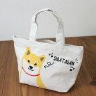 【ホビー柴田】ミニトートバッグ【ランチトート】【犬グッズ】