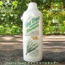 Hearty Heart ティートリーシャンプー l オーガニック シャンプー 無添加 敏感肌 旧表示指定成分無添加 防腐剤無添加 合成香料無添加 合成着色量無添加 酢酸 地球に優しい 環境に優しい ノンシリコン 安心 安全 リンス不要 自然派 日本製