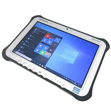 送料無料 中古パソコン ノート Panasonic TOUGHPAD FZ-G1 /10インチ/Windows10/Core i5/メモリ4GB/SSD128GB/Webカメラ/ FZ-G1AABZZCJ