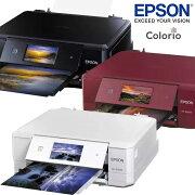 【在庫目安:あり】【送料無料】EPSONカラリオ[EP-808AB/EP-808AW/EP-808AR]A4インクジェットプリンター多機能モデル(6色)4.3型ワイドタッチパネル液晶搭載