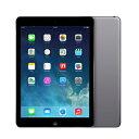 SIMフリー 【第1世代】iPad Air Wi-Fi+Cellular 16GB スペースグレイ MD791J/A A1475【国内版SIMフリー】[中古Cランク]【当社3ヶ月間保証】 タブレット 中古 本体 送料無料【中古】 【 中古スマホとタブレット販売のイオシス 】