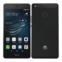 SIMフリー Huawei P9 Lite VNS-L22 Black【国内版 SIMフリー】[中古Bランク]【当社3ヶ月間保証】 スマホ 中古 本体 送料無料【中古】 【 中古スマホとタブレット販売のイオシス 】