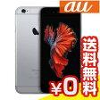 白ロム au 未使用 iPhone6s 128GB A1688 (MKQT2J/A) スペースグレイ【当社6ヶ月保証】 スマホ 中古 本体 送料無料【中古】 【 パソコン&白ロムのイオシス 】