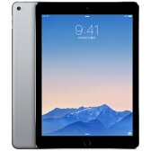 未使用 iPad Air2 (MNVP2J/A) 32GB スペースグレイ 【国内版SIMフリー】【当社6ヶ月保証】 タブレット 中古 本体 送料無料【中古】 【 パソコン&白ロムのイオシス 】