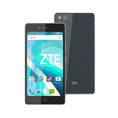 SIMフリー 未使用 ZTE BLADE E01 ブラック モバイル版 ス...