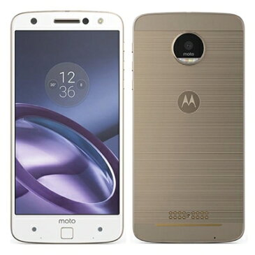 SIMフリー Motorola Moto Z XT1650-03 Dual 64GB ホワイト [国内版SIMフリー][中古Aランク]【当社3ヶ月間保証】 スマホ 中古 本体 送料無料【中古】 【 中古スマホとタブレット販売のイオシス 】