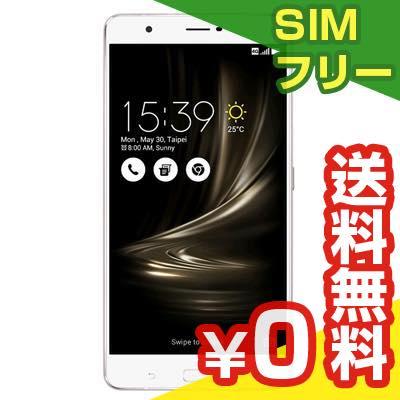 SIMフリー ASUS ZenFone3 Ultra Dual SIM ZU680KL 32GB Silver 【国内版 SIMフリー】[中古Bランク]【当社1ヶ月間保証】 スマホ 中古 本体【中古】 【 パソコン&白ロムのイオシス 】:中古パソコンと白ロムのイオシス