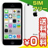 SIMフリー iPhone5c A1532 (NF129LL/A) 32GB White【海外版 SIMフリー】[中古Aランク]【当社1ヶ月間保証】 スマホ 中古 本体 送料無料【中古】 【 パソコン&白ロムのイオシス 】