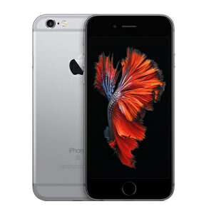 AppleauiPhone6s64GBA1688(MKQN2J/A)スペースグレイ
