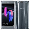 SIMフリー Huawei Honor9 STF-L09 Glacier Grey【国内版 SIMフリー】[中古Aランク]【当社3ヶ月間保証】 スマホ 中古 本体 送料無料【中古】 【 中古スマホとタブレット販売のイオシス 】