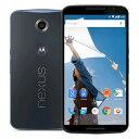SIMフリー Google Nexus 6 32GB Dark Blue [XT1100 SIMフリー][中古Cランク]【当社3ヶ月間保証】 スマホ 中古 本体 送料無料【中古】 【 中古スマホとタブレット販売のイオシス 】