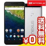 白ロム Y!mobile Google Nexus6P H1512 32GB Alminum[中古Bランク]【当社1ヶ月間保証】 スマホ 中古 本体 送料無料【中古】 【 中古スマホとタブレット販売のイオシス 】