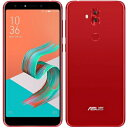 SIMフリー 未使用 ASUS Zenfone5Q (Lite) Dual-SIM ZC600KL【Rouge Red 64GB 国内版 SIMフリー】【当社6ヶ月保証】 スマホ 中古 本体 送料無料【中古】 【 中古スマホとタブレット販売のイオシス 】