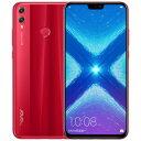 SIMフリー 未使用 Huawei honor 8X Dual-SIM 【Red 6GB 128GB 中国版 SIMフリー】【当社6ヶ月保証】 スマホ 中古 本体 送料無料【中古】 【 中古スマホとタブレット販売のイオシス 】