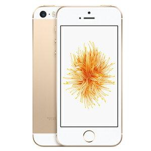 Apple【SIMロック解除済】SoftBankiPhoneSE32GBA1723(MP842J/A)ゴールド