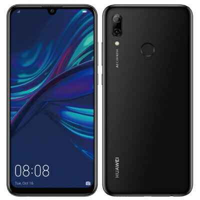 スマートフォン・タブレット, スマートフォン本体 SIM HUAWEI nova lite 3 POT-LX2J Midnight Black UQ SIM6