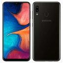 SIMフリー 未使用 Samsung Galaxy A20 Dual-SIM SM-A205 【3GB 32GB Black 海外版 SIMフリー】【当社6ヶ月保証】 スマホ 中古 本体 送料無料【中古】 【 中古スマホとタブレット販売のイオシス 】