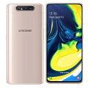 SIMフリー 未使用 Samsung Galaxy A80 Dual-SIM SM-A8050 【8GB 128GB Angel Gold 海外版 SIMフリー】【当社6ヶ月保証】 スマホ 中古 本体 送料無料【中古】 【 中古スマホとタブレット販売のイオシス 】