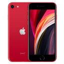 【SIMロック解除済】【第2世代】au iPhoneSE 64GB レッド MHGR3J/A A2296 Apple 当社6ヶ月保証 未使用 【 中古スマホとタブレット販売のイオシス 】