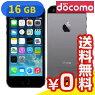 AppledocomoiPhone5s16GBME332J/Aスペースグレイ
