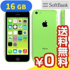 AppleSoftBankiPhone5c16GBGreen(ME544J/A)