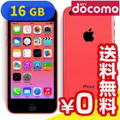 白ロム docomo iPhone5c Pink 16GB [ME545J/A] [中古Bランク]【当社1ヶ月間保証】 スマホ 中古 本体 送料無料【中古】 【 パソコン&白ロムのイオシス 】