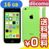 白ロム docomo iPhone5c 16GB [ME544J/A] Green[中古Bランク]【当社1ヶ月間保証】 スマホ 中古 本体 送料無料【中古】 【 パソコン&白ロムのイオシス 】