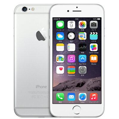 白ロム docomo iPhone6 64GB A1586 (MG4H2J/A) シルバー[中古Aランク]【当社1ヶ月間保証】 スマホ 中古 本体【中古】 【 パソコン&白ロムのイオシス 】:中古スマホとタブレットのイオシス