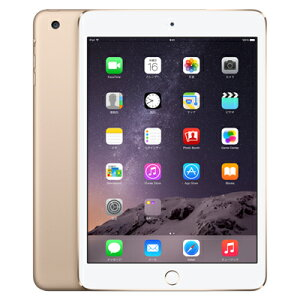 AppledocomoiPadmini3Wi-FiCellular(MGYR2J/A)16GBゴールド
