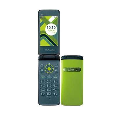 白ロム au 未使用 GRATINA2 Green (KYY10SGA)【当社6ヶ月保証】 ガラケー 中古 本体 携帯電話 送料無料【中古】 【 中古スマホとタブレット販売のイオシス 】